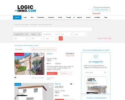 Maison à vendre Rognac 13340, vente Maison...