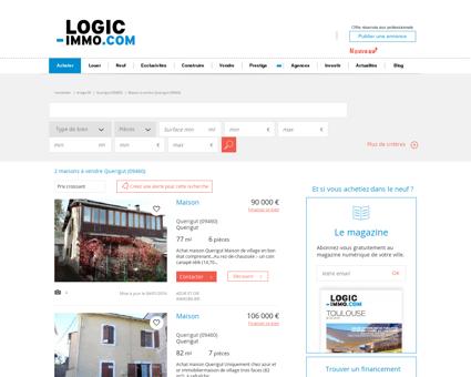 Maison à vendre Querigut 09460, vente...