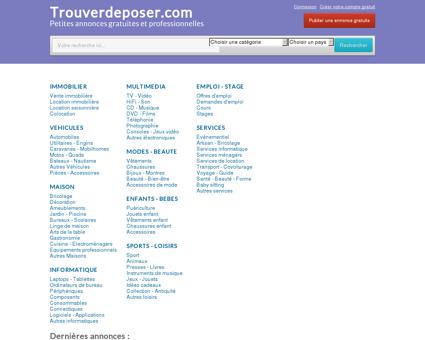 Trouverdeposer.com - petites annonces...