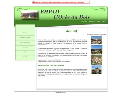 Maison de retraite - Ehpad L'Orée du Bois -...