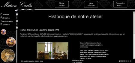 Maison Carlès, Atelier de bijouterie - joaillerie...