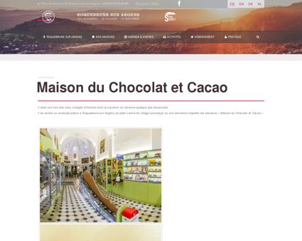 La Maison du Chocolat et Cacao | Tourisme...