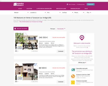 Vente Maison Tarascon sur Ariège (09) |...