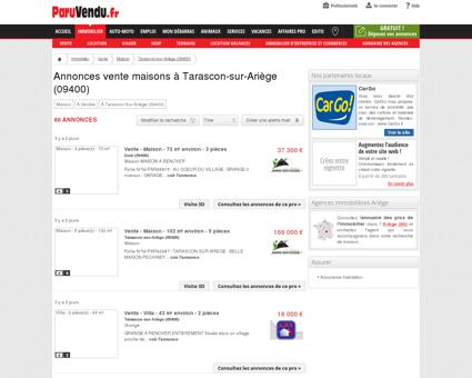 Vente maison à Tarascon-sur-Ariège (09400) :...