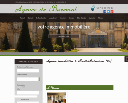 Agence immobiliere Rueil Malmaison -...