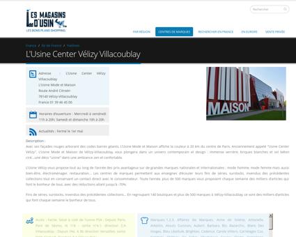 L'Usine Mode et Maison Vélizy Villacoublay |...