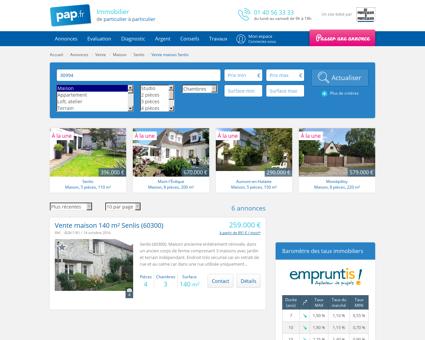 Vente maison Senlis (60300) | De Particulier à ...