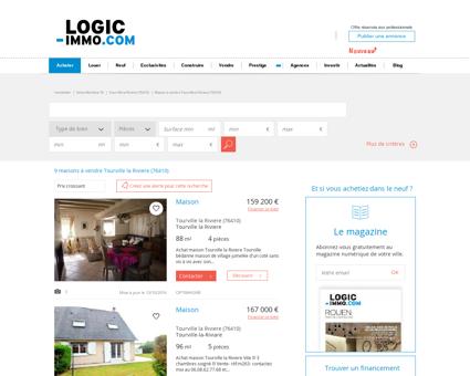 Maison à vendre Tourville la Riviere 76410,...