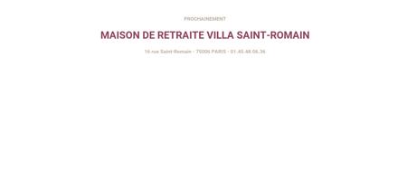 Maison de retraite Villa Saint-Romain