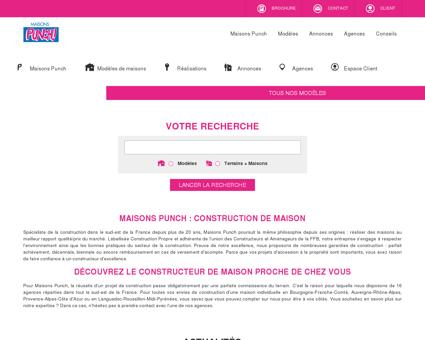 Construction maison Lyon, Maison Punch,...