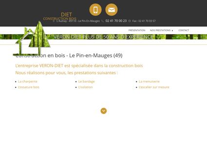 Escalier Angers - SARL VERON DIET : maison...