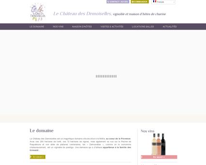 Le Château des Demoiselles, | vignoble et...