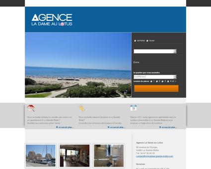 Immobilier La Grande Motte appartement et...