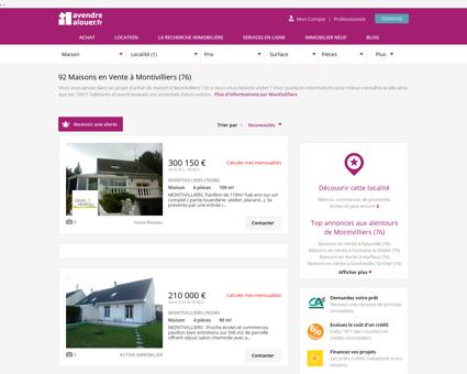 Vente Maison Montivilliers (76) | Acheter...