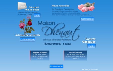 Maison Dhenaut | Funérailles, Services...