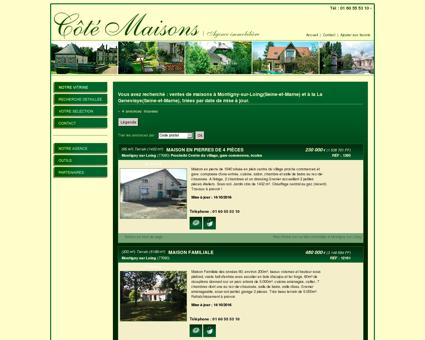 vente Maison ancienne 200 m2 Montigny sur...