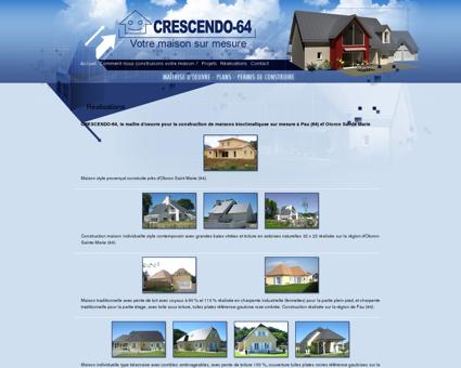 Construction de maisons bioclimatiquse sur...