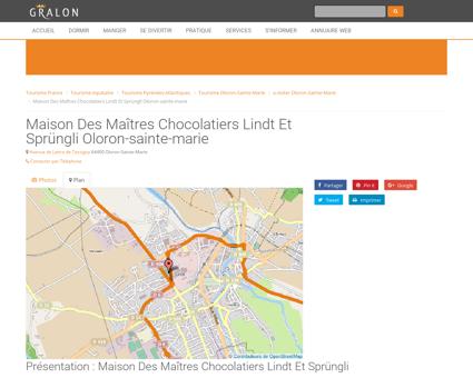 Maison des maîtres chocolatiers lindt et...