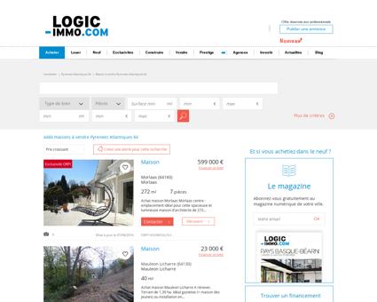 Maison à vendre Pyrenees Atlantiques 64,...