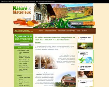 Matériaux écologiques pour une maison...