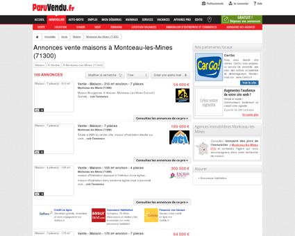 Vente maison à Montceau-les-Mines (71300) :...