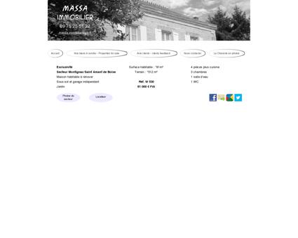 W530 vente maison montignac charente -...
