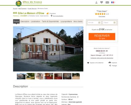 Gîte La Maison D'elise à Montastruc-saves -...