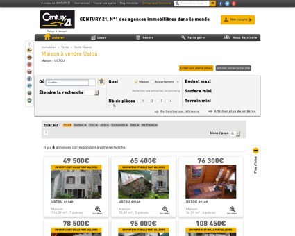 Vente Maison à USTOU (09140) - Agence...