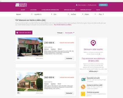 Vente Maison Méru (60) | Acheter Maison...