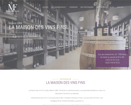 Accueil - La Maison des Vins Fins