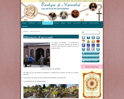 Maison d'accueil | Basilique Notre Dame de...