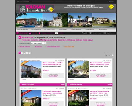 Vente maison / villa Montgiscard Secteur : A 3...