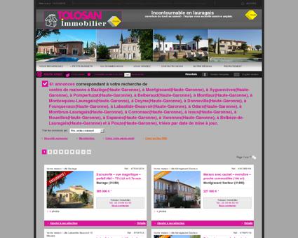 Vente maison / villa Ayguesvives : Très belle...
