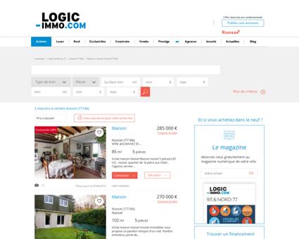 Maison à vendre Noisiel 77186, vente Maison...