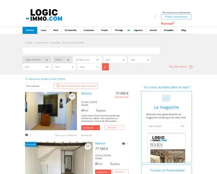 Maison à vendre Oissel 76350, vente Maison...