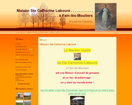 Maison d'accueil Ste Catherine Labouré à FAIN...