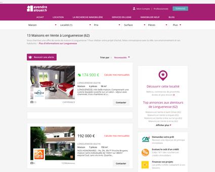Vente Maison Longuenesse (62) | Acheter...