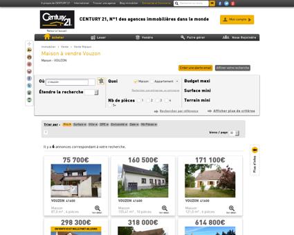 Vente Maison à VOUZON (41600) - Agence...