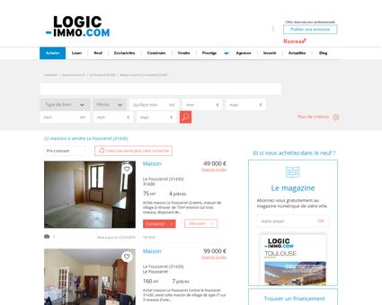 Maison à vendre Le Fousseret 31430, vente...