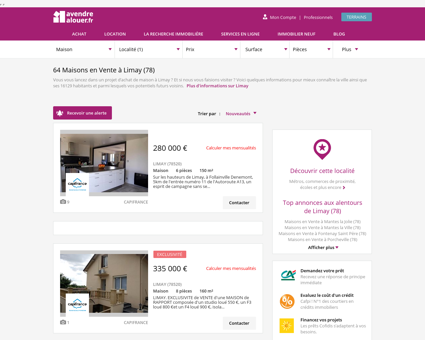Vente Maison Limay (78) | Acheter Maison...
