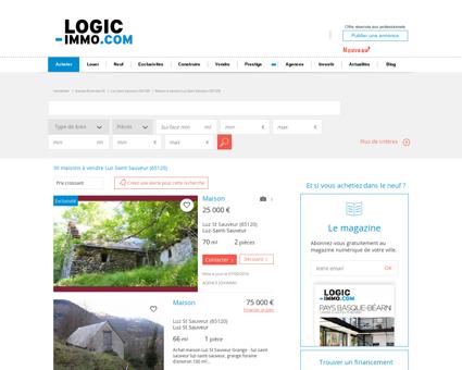 Maison à vendre Luz Saint Sauveur 65120,...