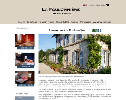 La Foulonnière | Maison d'hôte
