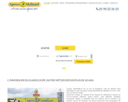 Immobilier Guadeloupe | Agence Molinard |...