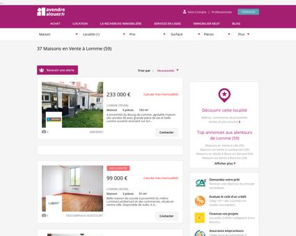 Vente Maison Lomme (59) | Acheter Maison...