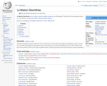 La Maison Deschênes  Wikipédia