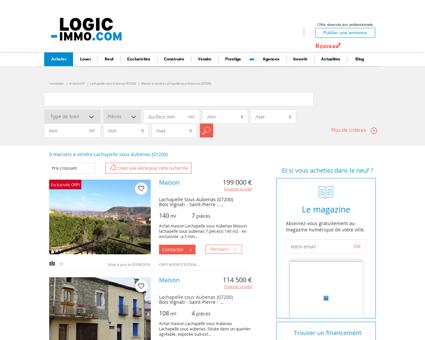 Maison à vendre Lachapelle sous Aubenas...