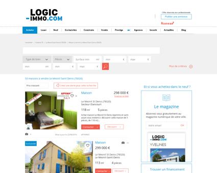 Maison à vendre Le Mesnil Saint Denis 78320,...