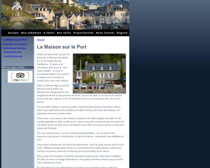 La Maison sur le Port : Chambres d'hôtes à...