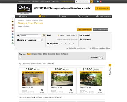 Location Maison à PAMIERS (09100) - Agence...