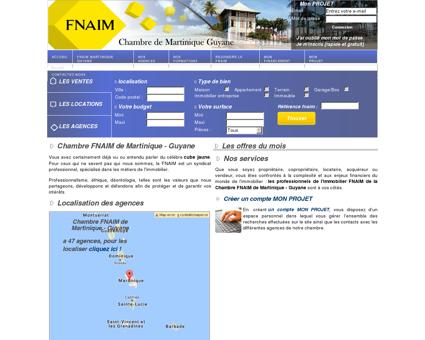 Chambre FNAIM de Martinique - Guyane -...